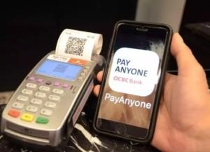 OCBC's Pay Anyone app