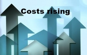 costs rising