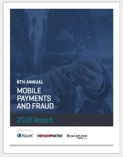 Kount mobile fraud report