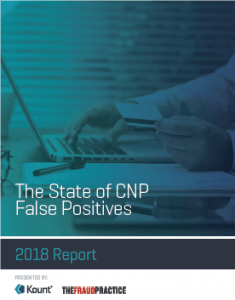 Kount false-positive report cover