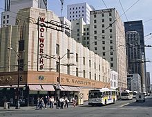 Seattle Woolworth's store 1986