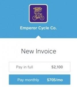 Square Installment invoices