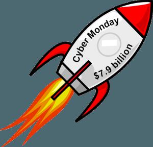 $7.9 B Cyber Monday sales record