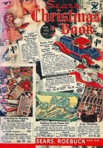 Sears 1933 Christmas Wish Book catalog
