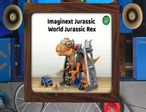 Walmart Toy Lab Jurassic Park