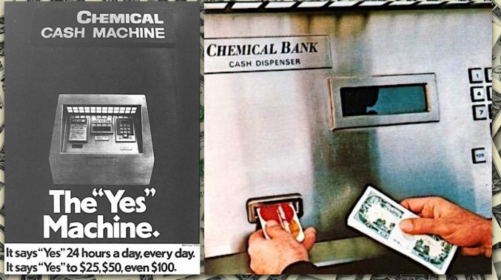 Chemical Bank ATM Sept 1969