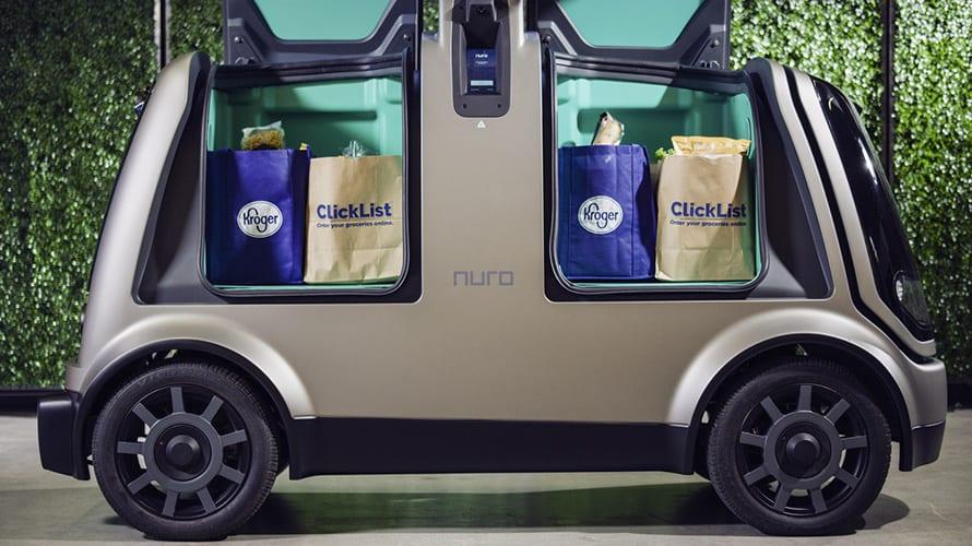 Kroger and Nuro delivery program