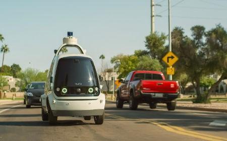 Nuro unmanned vehicle
