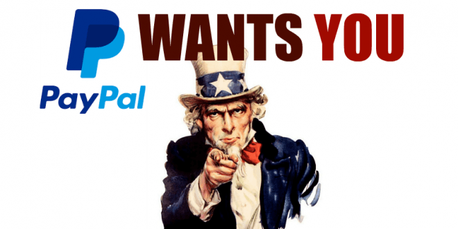 PayPal wants unbanked customers