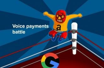 voice payments battle