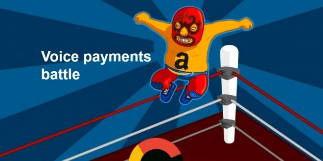 voice payments battle