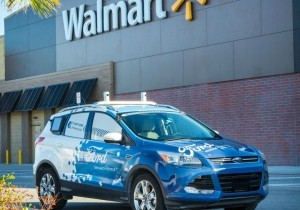 Walmart-Ford driverless delivery