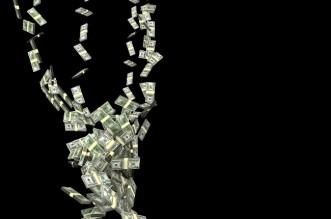 cash payments falling