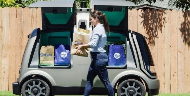Kroger tests driverless grocery deliveries