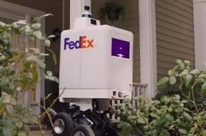 tests robot deliveries.