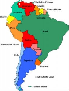 Latin America e-commerce is growing quickly, especially in Brazil and Argentina.