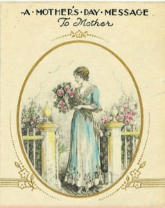 1920's Hallmark Mother's Day greeting card