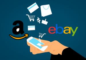 Amazon vs eBay sales