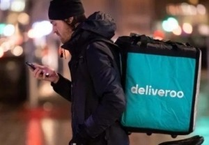 Amazon is one of a new group of investors in EU food delivery company Deliveroo.