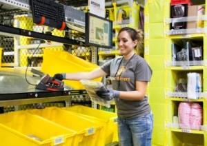 Amazon warehouse product picker
