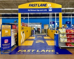 Walmart tests cashless fast Lane in Canada.
