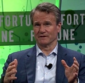 Brian Moynihan Bank of America CEO