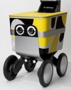 Postmates Serve delivery bot