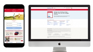 Bank of America website