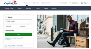 Capital One website