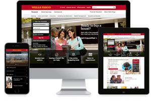Wells Fargo website