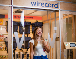 Wirecard Grab & Go checkout less store prototype