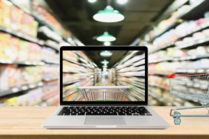 online groceries growing slowly
