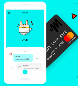 Mitto a bank card for Gen Z