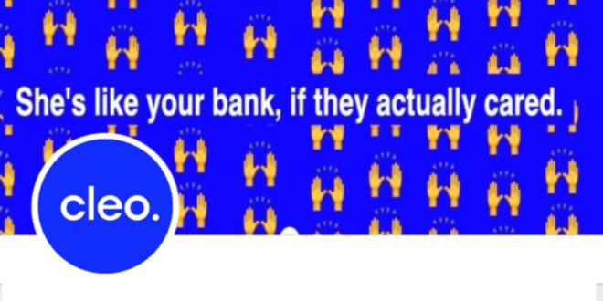 Cleo - bank app built for millennials