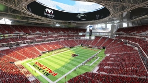 Mercedes-Benz Stadium is cashless
