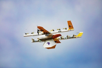Wing drones deliver in Christiansburg