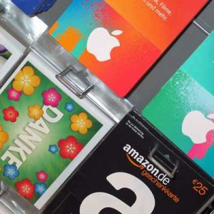 60% of consumers prefer physical gift cards