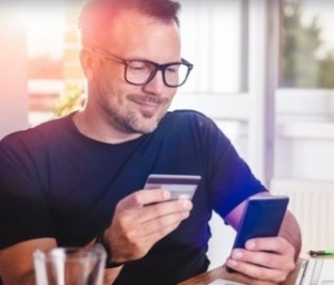 61% of small business use mobile banking