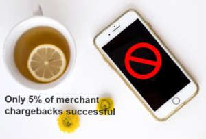Only 5% of merchant chargebacks successful